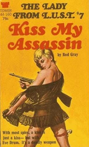 book cover of Kiss My Assassin