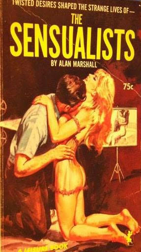 book cover of The Sensualists